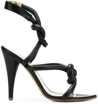 Vivienne Westwood knot strap sandals