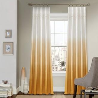 Vue 1-Panel Arashi Ombre Fashion Drapery Window Curtain