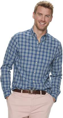 6940e9b695 Sonoma Goods For Life Men's SONOMA Goods for Life Slim-Fit Perfect Length  Button-