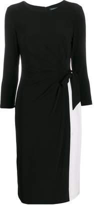Lauren Ralph Lauren layered midi dress