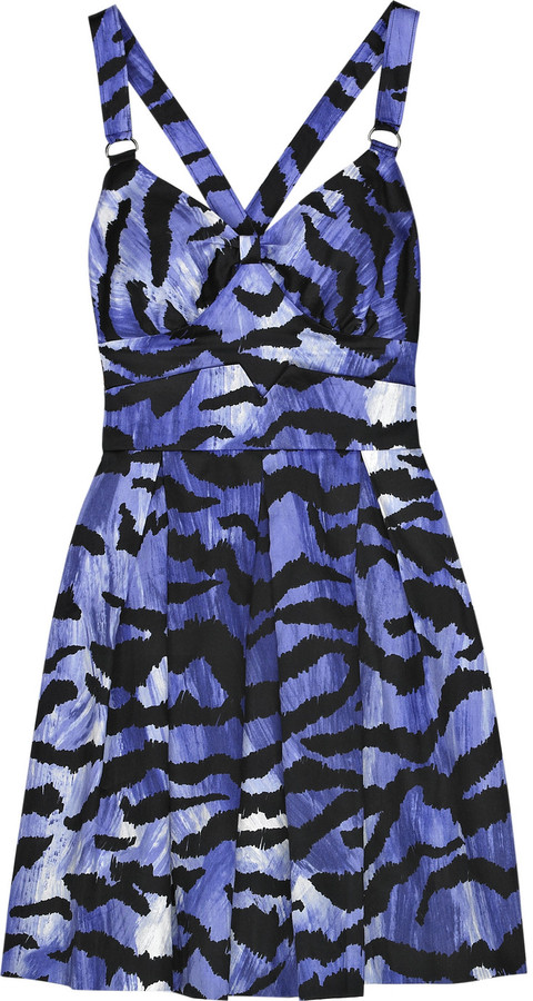 Alice by Temperley Tiger cotton sundress