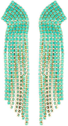 Lydell NYC Stone Multi-Strand Dangle Earrings