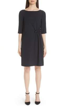 Emporio Armani Pin Detail Dress
