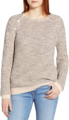 Caslon Raglan Sleeve Sweater