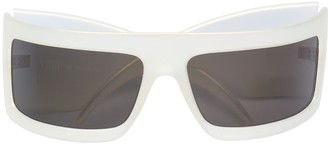 Gianfranco Ferre Pre-Owned thick arm sunglasses