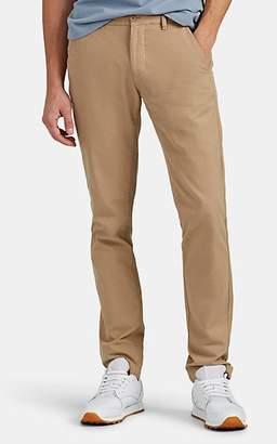 Barneys New York MEN'S TORINI COTTON TWILL STRAIGHT-LEG CHINOS - CAMEL SIZE 30