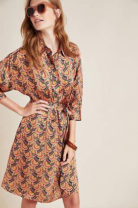 Eva Franco Edeline Abstract Shirtdress