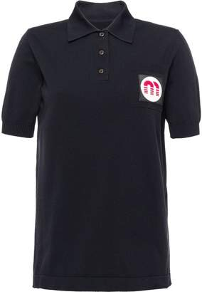 Miu Miu nylon polo shirt