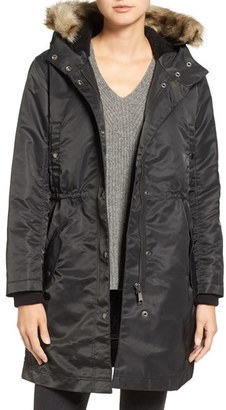 Women's Madewell Leopold Military Parka $250 thestylecure.com