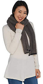 Barefoot Dreams Cozychic Scarf with ContrastTip