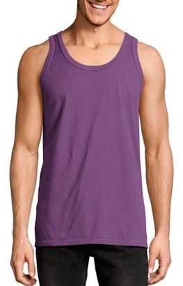 Hanes Big Men's ComfortWash Garment Dyed Sleeveless Tank Top
