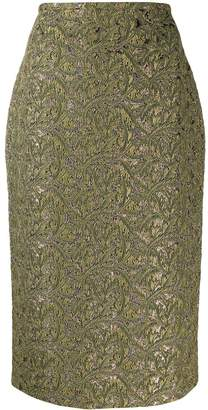Rochas fitted pencil skirt