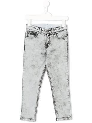 Stella McCartney stonewashed skinny jeans