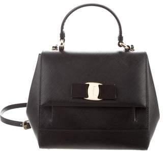 Salvatore Ferragamo Leather Carrie Bag