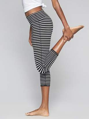 Athleta Stripes Chaturanga Capri