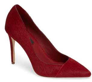Donna Karan Rain Genuine Calf Hair Pointy Toe Pump