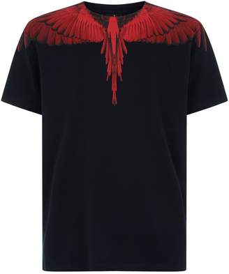 Marcelo Burlon County of Milan Wing Shoulder T-Shirt