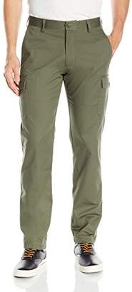 Louis Raphael s Men's Flat Front Cotton Blend Cargo Pant