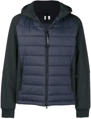 C.P. Company zipped padded jacket