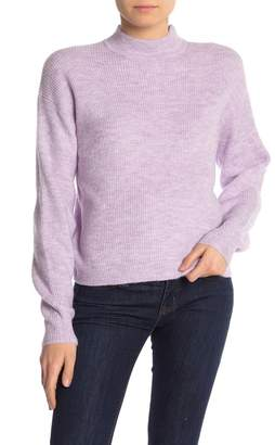 Free Press Mock Neck Pullover Sweater