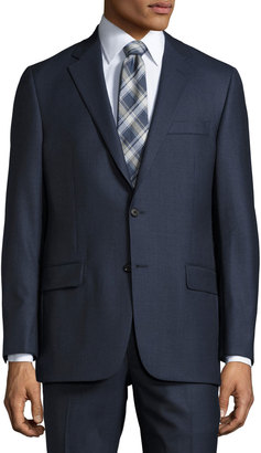 Hickey Freeman Classic-Fit Two-Button Suit, Blue $699 thestylecure.com