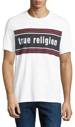 3efed35f89a True Religion Men s Retro Logo-Stripe T-Shirt