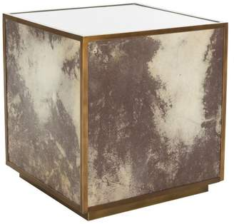 Safavieh Calisto Marble End Table, White