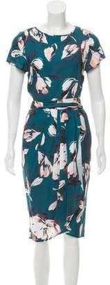 Yumi Kim Floral Print Midi Dress