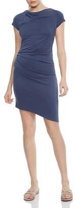 Halston Draped Jersey Dress