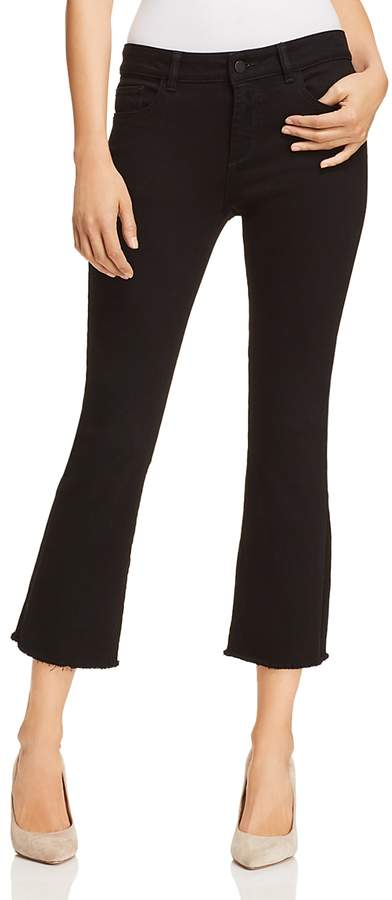Dl Lara Instasculpt High Rise Cropped Boot Jeans in Henderson