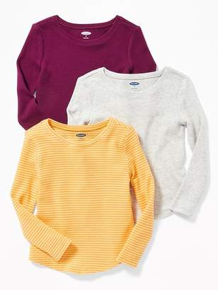 Old Navy 3-Pack Long & Lean Thermal Tees for Toddler Girls
