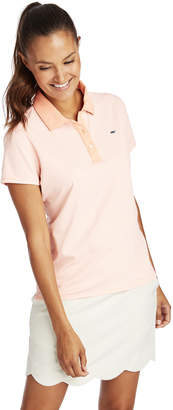 Vineyard Vines Short Sleeve Jersey Stripe Polo
