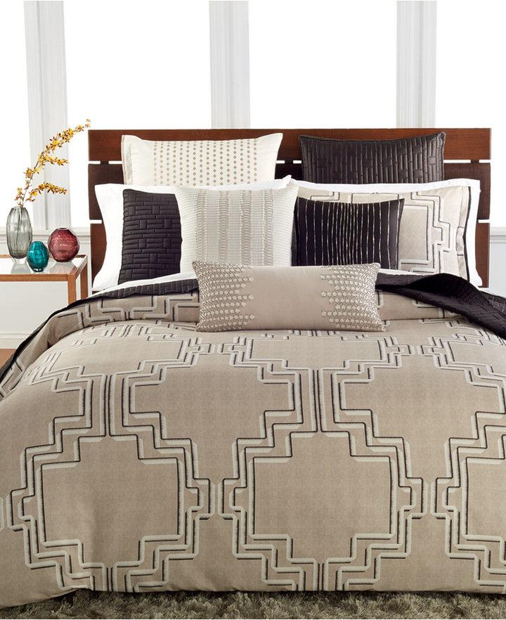 Hotel Collection Emblem King Duvet Cover Shopstyle Co Uk