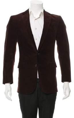 Ralph Lauren Black Label Corduroy Two-Button Blazer