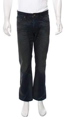 Rag & Bone Waxed Store Exclusive Straight-Leg Jeans