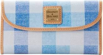 Dooney & Bourke Quadretto Check Continental Clutch