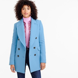 Double-breasted coat in double-cloth wool $350 thestylecure.com