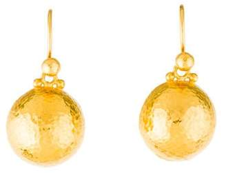 Pre Owned At Therealreal Gurhan 24k Clic Dome Earrings