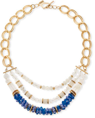 Akola Half Chain & 3-Row Necklace