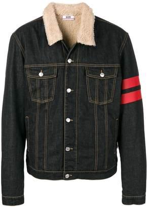 Gcds logo patch denim jacket