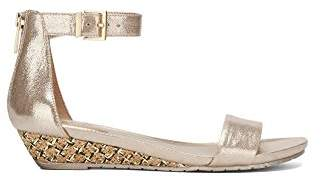 Kenneth Cole Reaction Women's Great Viber Ankle Strap Low Wedge Sandal