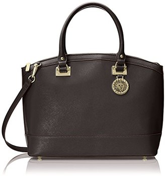 Anne Klein New Recruits Dome Large Satchel Bag $49.51 thestylecure.com