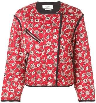 Etoile Isabel Marant floral bomber jacket