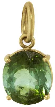 Irene Neuwirth One-Of-A-Kind Green Tourmaline Oval Charm