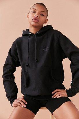Champion + UO Monochrome Reverse Weave Hoodie Sweatshirt $65 thestylecure.com