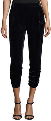 Parker Devlin Cropped Velvet Pants