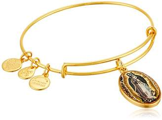 Alex and Ani Holy Ones Mary of Guadalupe Expandable Wire Bangle Charm Bracelet