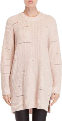 Religion Dusk Distressed Longline Sweater