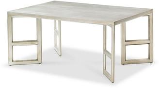 Bunny Williams Home Gilt Coffee Table - Silver