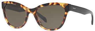 Prada Linea Rossa PR21SS Cat's Eye Sunglasses